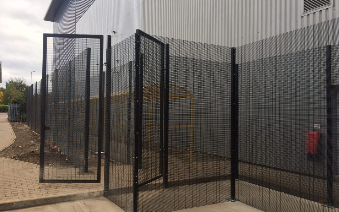Amazon Security Fencing
