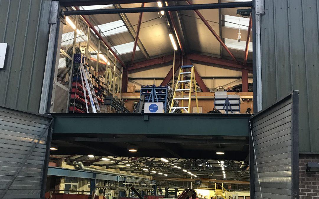 Mezzanine & Lower Level Roller Shutters
