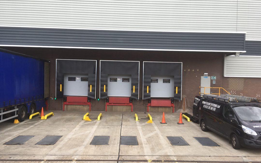 Dock Shelters at Amazon