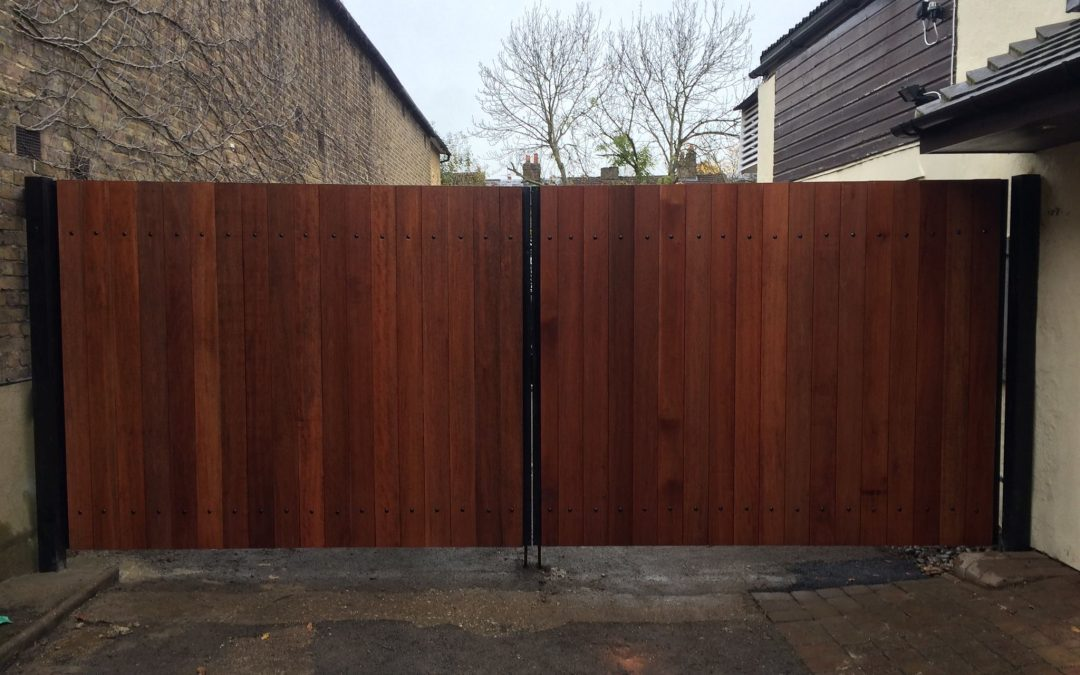Wooden Gates by Sprint Door Systems Watford Uk