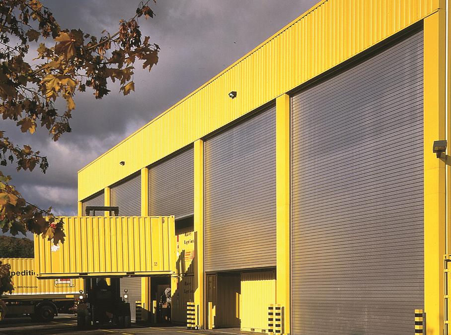 Sprint Door Systems roller shutter door specialist
