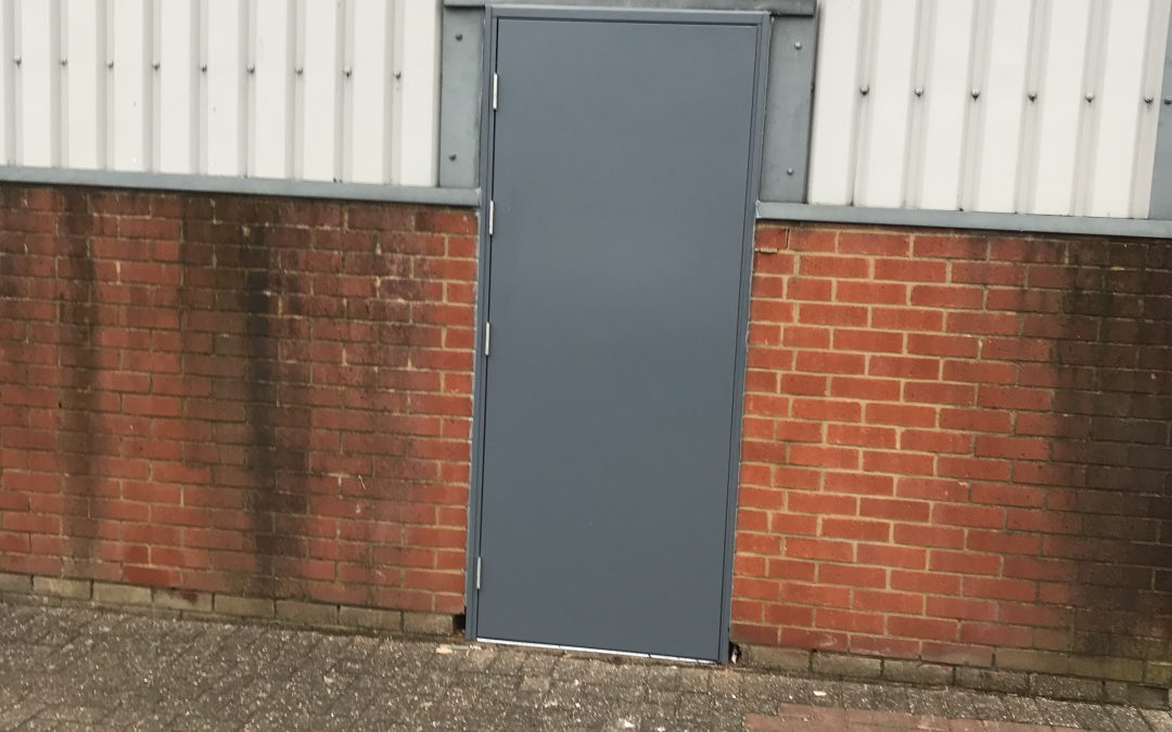 Steel Fire Exit Doors