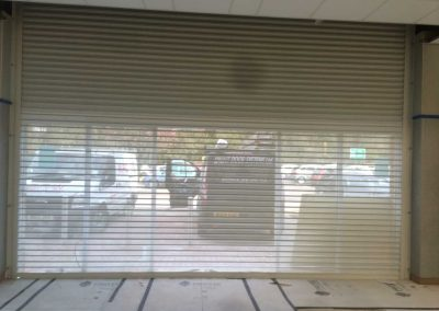 PERFORATED SINGLE SKINNED 1 - Perforated Roller Shutters Sprint Door Systems