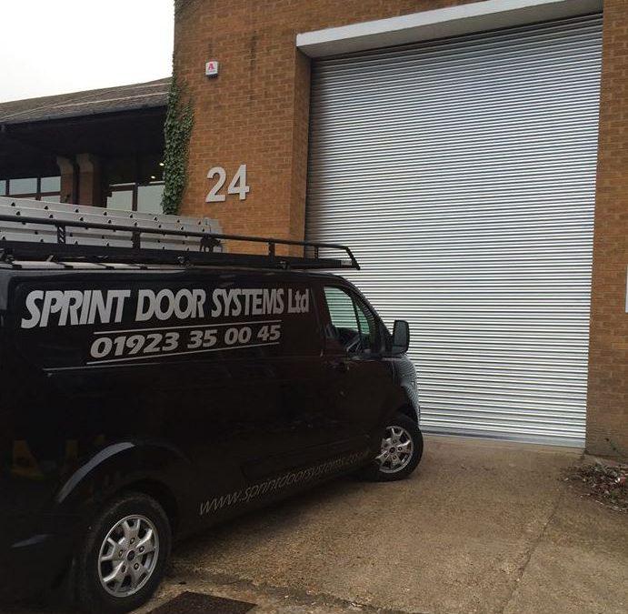 Industrial Roller Shutter installed by Sprint Door Systems Ltd