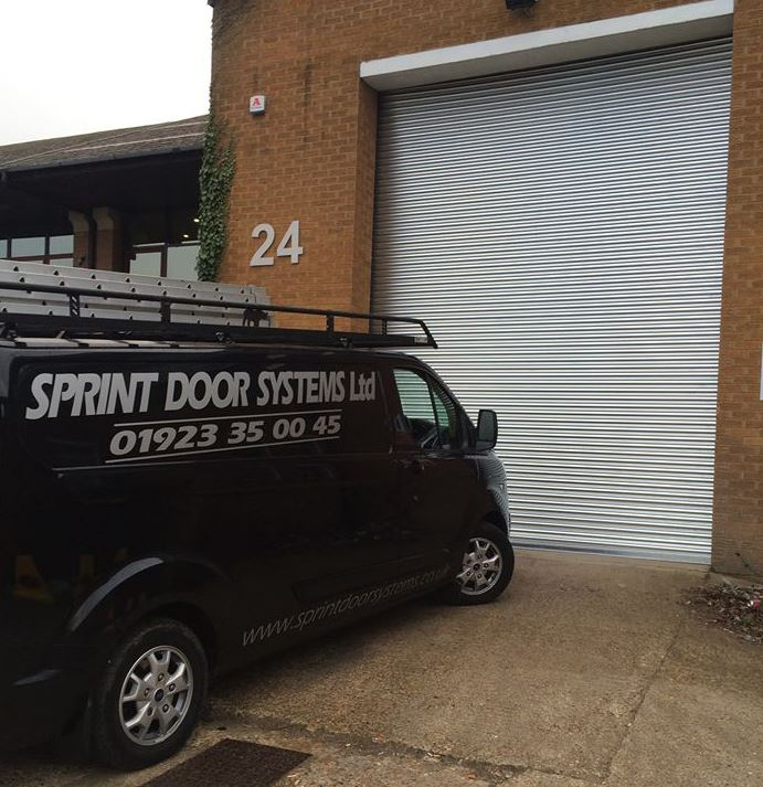 Sprint-doors-van-industrial-door-Services-by-Sprint-Door-Systems-UK