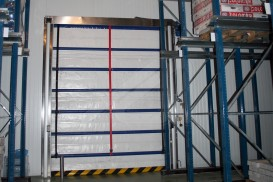 Instant pass iso vertical high speed doors