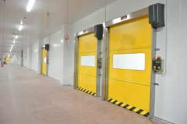 Mirflex zip auto-tracking vertical high speed doors