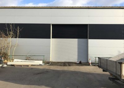 Colour Coded Roller Shutters - Industrial Roller Shutters Sprint Door Systems