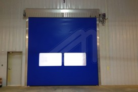 Instant protect vertical high speed doors