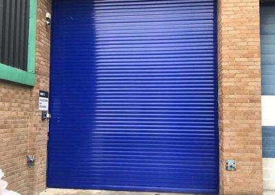 Insulated 77mm Roller Shutter - Industrial Roller Shutters Sprint Door Systems