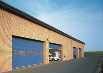 Insulated Steel Roller Shutters Sprint Door Systems