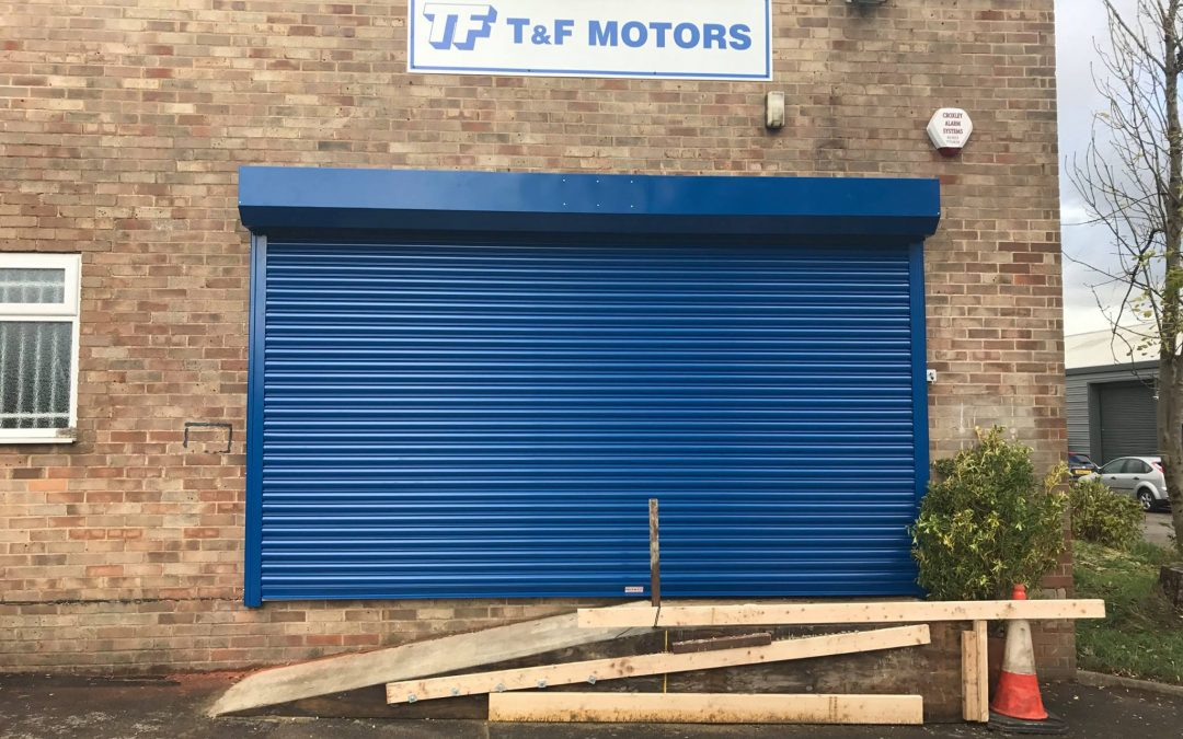 Business Roller Shutter Installations