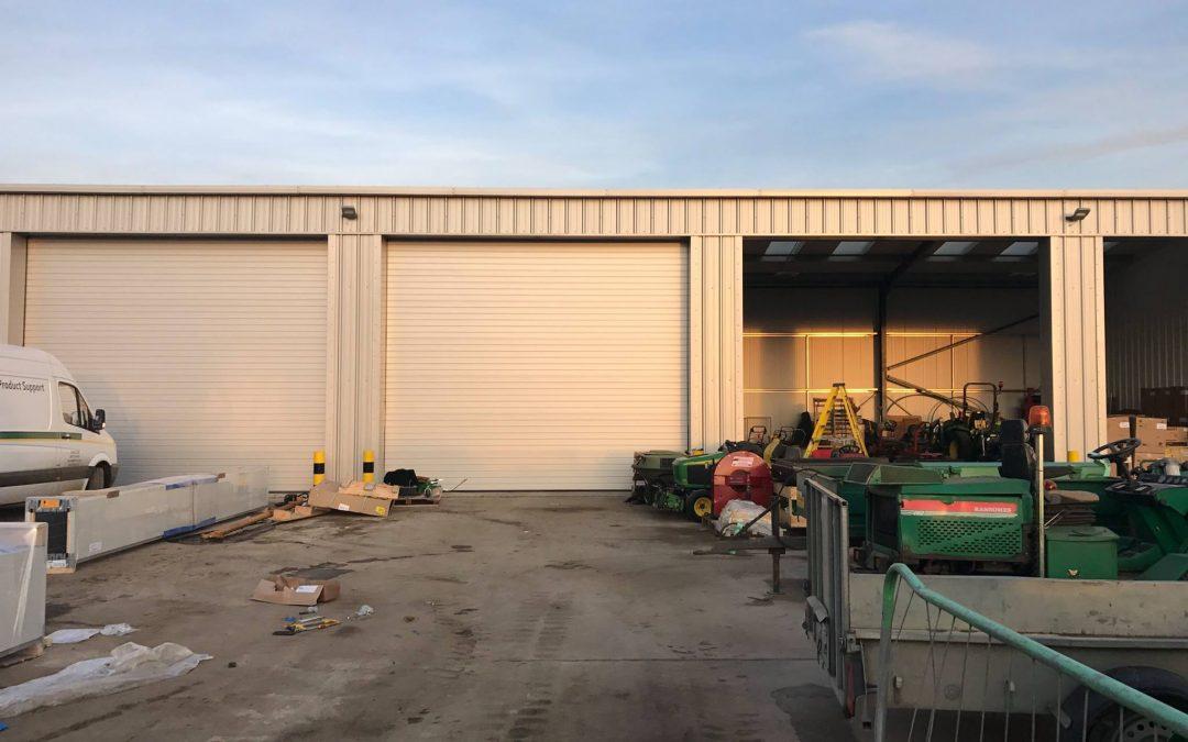 Sectional Roller Doors by Sprint Door Systems uk