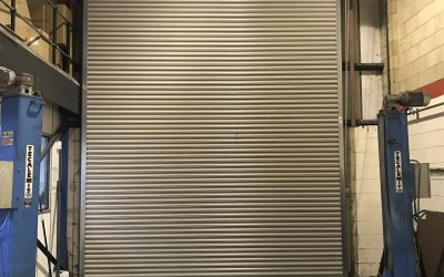 Manual Chain Operated Roller Shutter