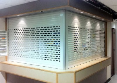 WS 002a Roller Shutters - Bar and Cabinet Shutters by Sprint Door Systems