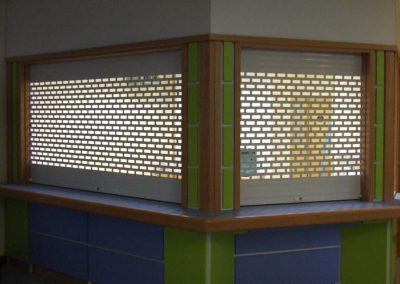 WS 009b Roller Shutters - Bar and Cabinet Shutters by Sprint Door Systems